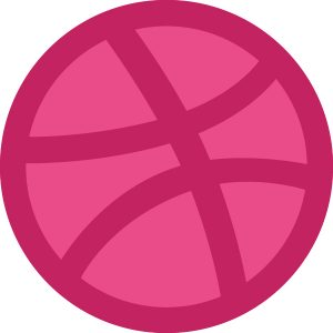 Dribbble Ball Icon
